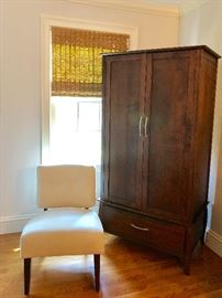 Matching armoire