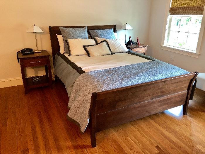 Great Bed with nightstands