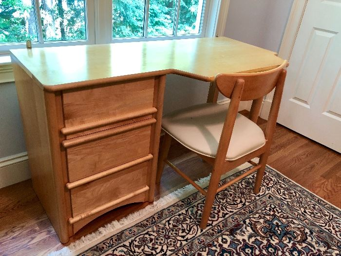 Stanley Furniture, small desk and matching chair