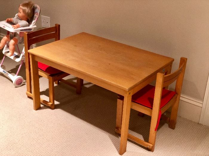 Great child's chairs and table
