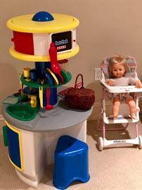 Berchet Kitchen and baby