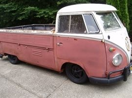 1959 VW Single Cab RAT ROD