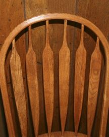 SET OF 8 ARROWBACK CHAIRS