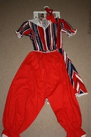 1971 Henry County Sesquicentennial Anniversary outfit.  This is a swimming suit and knickers that was probably made especially for this occasion.  We also have a long dress and bonnet from the Sesquicentennial.  Another historic Henry County item.