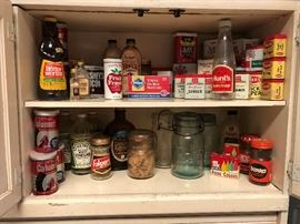 Vintage Tins and Spices