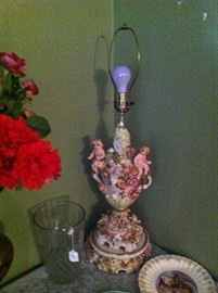 Capodimonte Lamp