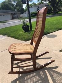 Ladies Wooden Rocker
