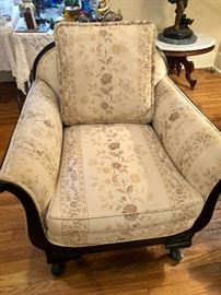 Upholstered chair, wonderful condition.