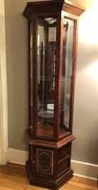 Curio display cabinet.