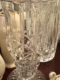 Pair of Waterford vases.