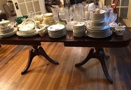 Dining table and chairs.  Excellent condition.
