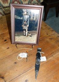 Scottish Highland dress knife and kilt pin