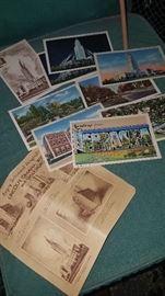 Much, much vintage ephemera!! Post cards, magazines, advertising