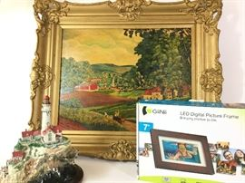 Scenic Vibes, including Lighthouse Figurine and More       http://www.ctonlineauctions.com/detail.asp?id=738871