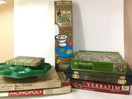 Assortment of Vintage Board Games and More    http://www.ctonlineauctions.com/detail.asp?id=738874