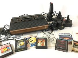 Atari Console, Controllers, and Games http://www.ctonlineauctions.com/detail.asp?id=738875