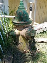 Vintage Fire Hydrant Authentic