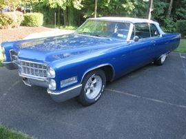 1966 Cadillac DeVille with 63,260 miles