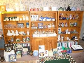 TONS of Beellek, LLadro, Hummells, Fenton, Crystal, Fine China, Collector Plates, and more!