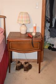 Side Table & Table Lamp