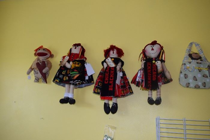 Doll wall art