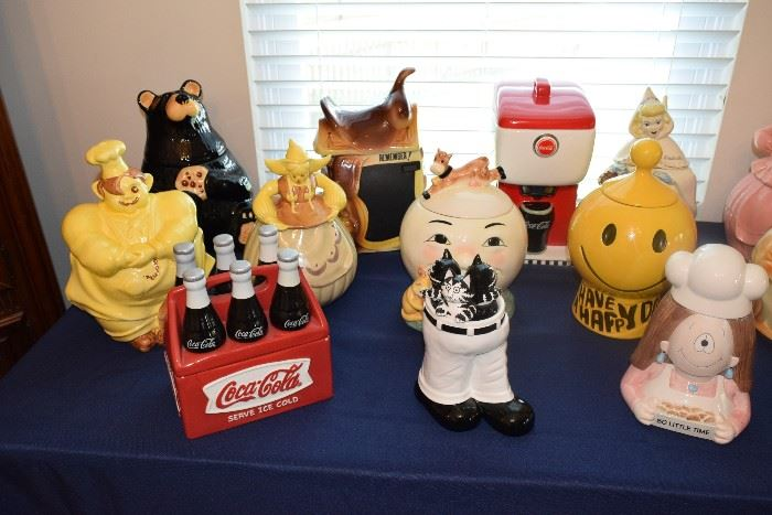 Collectible Figurines and Cookie Jars
