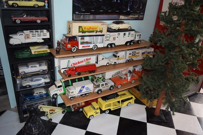 Collectible cars and trucks