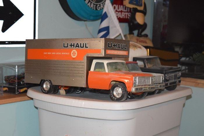 U-Haul collectible truck