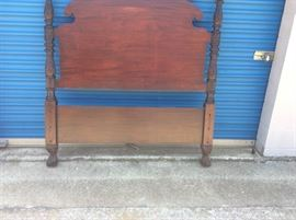 Antique Headboard and
