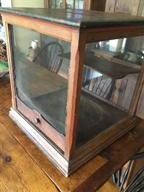 Antique Pie safe display