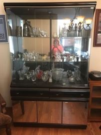 China cabinet Mirror door bottom $300