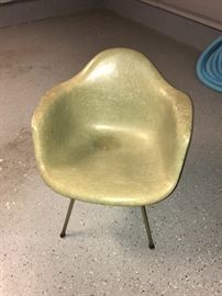 2 Henry Miller Eames chairs