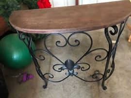 I have my own entry table $25 buy it now PAYPAL