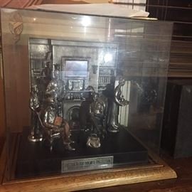 The Sherlock Homes Collection By Michael Anthony Ricker 127/2000 Pewter
