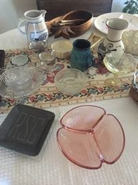 Vintage and Antique Glass and Pottery