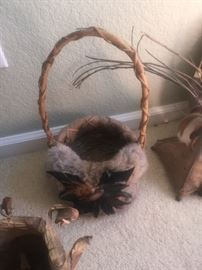 Southwest Native American Decor and baskets