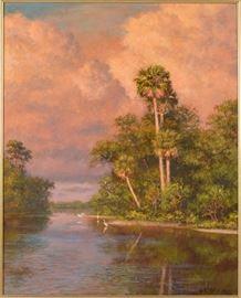 Albert Beanie Backus Oil Painting