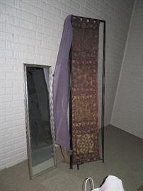room divider, mirror
