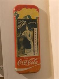 Vintage CocaCola Thermometer