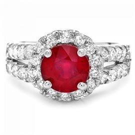 GIA Ruby Ring