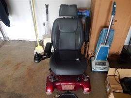 Motorized electric wheelchair