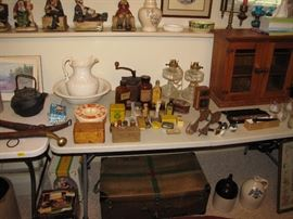 Red cross medical case, medicine cabinet - apothecary and more.