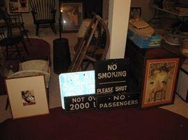 More vintage signs.