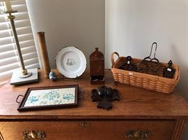 Beautiful antique and vintage collectibles.