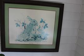 GENE GRAY PRINT-little rabbit