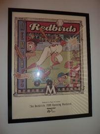 Vintage Opening Season Memphis Redbirds