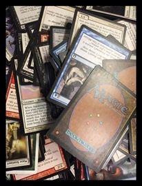 Gathering Cards massive amount of magic