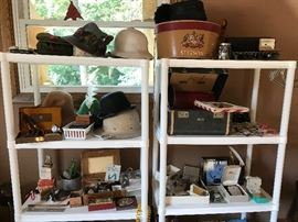 Vintage hats and hat boxes