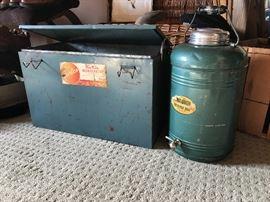 Vintage picnic & camping equipment