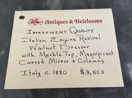 original cost of